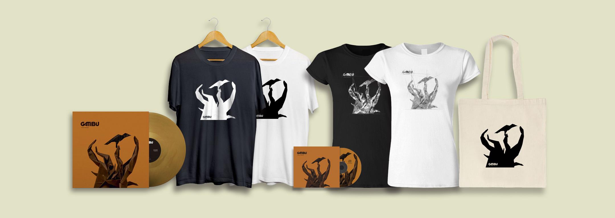 Gatibu - Azken Indioak merchandising